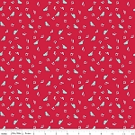 The Shabby Strawberry C6042 Red Birds by Emily Hayes for Penny Rose