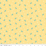 The Shabby Strawberry C6042 Yellow Birds by Emily Hayes for Penny Rose