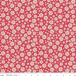The Shabby Strawberry C6043 Red Daisy by Emily Hayes for Penny Rose