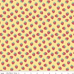 The Shabby Strawberry C6044 Yellow Berry by Emily Hayes for Penny Rose