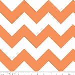 Chevron Large C330-60 Orange by Riley Blake