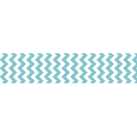 Chevron Grosgrain Ribbon 7/8