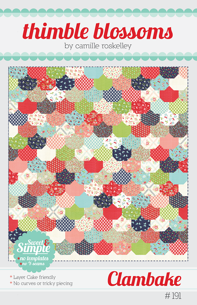 Clambake Quilt Pattern Thimble Blossoms