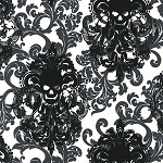 Goth Damask CX6487 Stone by Michael Miller