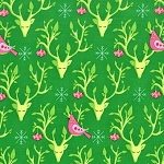 Festive Nest DC6603 Evergreen by Tamara Kate for Michael Miller