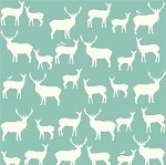 Mod Basics Organic MB2-01 Pool Elk Fam by Birch Fabrics