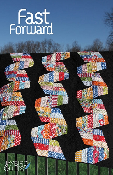 Jaybird Quilts Quilting Pattern - Fast Forward | The Quilted Castle : quilted castle - Adamdwight.com