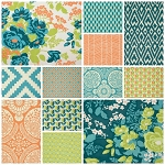 Flora 12 Fat Quarter Set by Joel Dewberry for Free Spirit