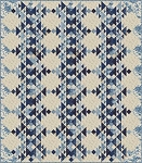 Frost Quilt Pattern by Laundry Basket Quilts
