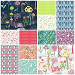 Garden Party 12 Fat Quarter Set by Katy Tanis for Blend