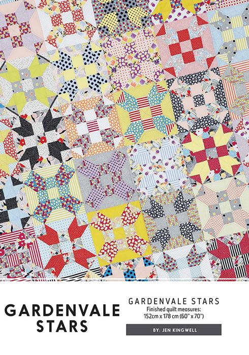 Gardenvale Stars Quilt Pattern - Jen Kingwell : stars quilt - Adamdwight.com