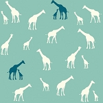 Serengeti Organic SG-11 Pool Giraffe Fam by Jay-Cyn for Birch