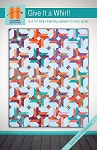 Give It a Whirl Quilt Pattern by Hunter's Design Studio