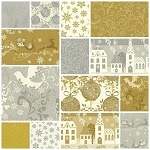 Glisten 14 Fat Quarter Set by Whistler Studios for Windham