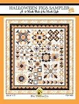 Halloween Figs Sampler Block of the Month Pattern by Fig Tree Quilts