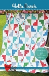 Hello March Quilt Pattern by Cluck Cluck Sew