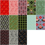 Holiday Homies 13 Fat Quarter Set by Tula Pink for Free Spirit
