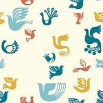 Ipanema Organic DB-07 Bird Icons by Dennis Bennett for Birch