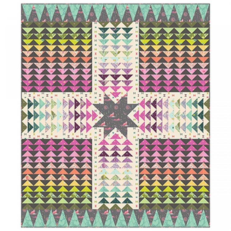 Wayfinder Quilt Kit Tula Pink Free Spirit