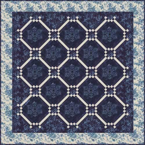 Let It Snow Again Quilt Pattern - Laundry Basket Quilts : snow quilts - Adamdwight.com