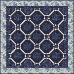 Let It Snow Again Quilt Pattern by Laundry Basket Quilts