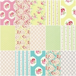 Lola 15 Fat Quarter Set by Tanya Whelan for Free Spirit