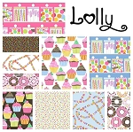 Lolly 10 Fat Quarter Set by Maude Asbury for Blend