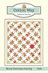 Merry Christmas Darling Quilt Pattern by Cotton Way