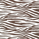 Metro Living EIP-11175-167 Chocolate Zebra by Robert Kaufman