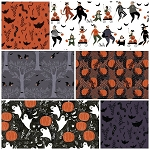 Mischief Night 6 Fat Quarter Set by Dinara Mirtalipova for Windham