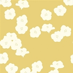 Mod Basics Organic MB2-03 Sun Poppies by Birch Fabrics
