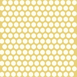 Mod Basics Organic MB-01 Cream on Sun Dottie by Birch Fabrics