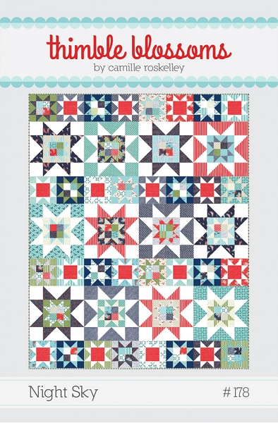 Night Sky Quilt Pattern Thimble Blossoms