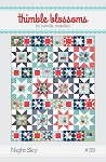 Night Sky Quilt Pattern by Thimble Blossoms
