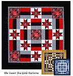 #1 Fan Quilt Pattern by The Sweet Tea Girls