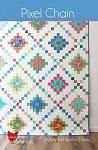 Pixel Chain Quilt Pattern by Cluck Cluck Sew
