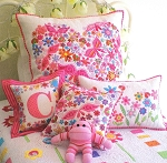 Pretty 'n Pink Pillows Pattern by Don't Look Now