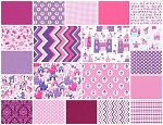 Princess 20 Fat Quarter Set by Michael Miller