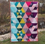 Prismatic Organic Quilt Kit by Sarah Watson for Cloud 9
