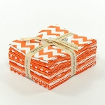 Riley Blake Basics 12 Fat Quarter Bundle in Orange
