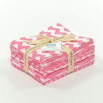 Riley Blake Basics 12 Fat Quarter Bundle in Hot Pink