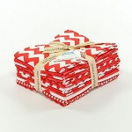 Riley Blake Basics 12 Fat Quarter Bundle in Red