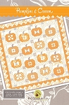 Pumpkins and Cream Quilt Pattern by Fig Tree