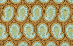 Belle PWAB110 Blue Henna Paisley by Amy Butler for Westminster