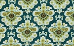 Belle PWAB111 Spruce French Wallpaper by Amy Butler EOB