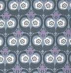 Violette PWAB141 Zinc French Twist by Amy Butler for Free Spirit