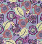 Bright Heart PWAB145 Lavender Coco Bloom by Amy Butler for Free Spirit
