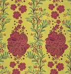 Folk Song PWAH088 Citrus Floral by Free Spirit EOB
