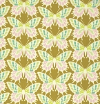 Clementine PWHB055 Ginger Flutterby by Heather Bailey for Free Spirit