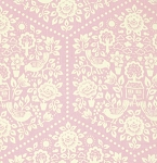 Clementine PWHB057 Pink Summerhouse by Heather Bailey for Free Spirit